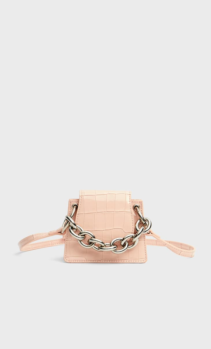 Mini chain bag
