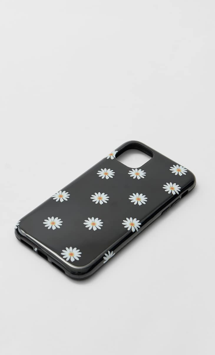 Coque iPhone 11 marguerites