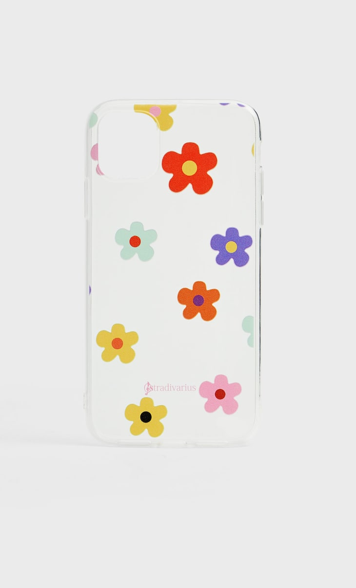Floral iPhone 11 case