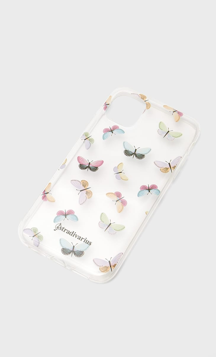 Butterfly print iPhone 11 case