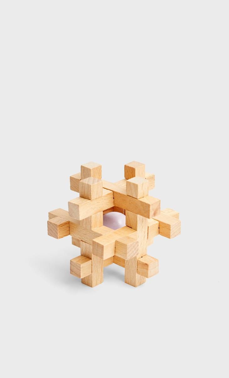 Puzzle en bois boule