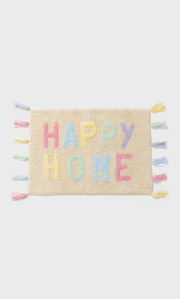 Happy home rug