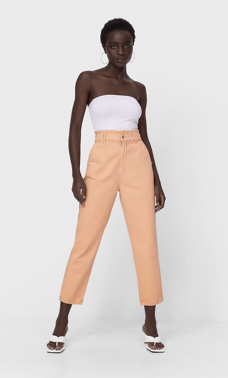 Baggy twill jeans