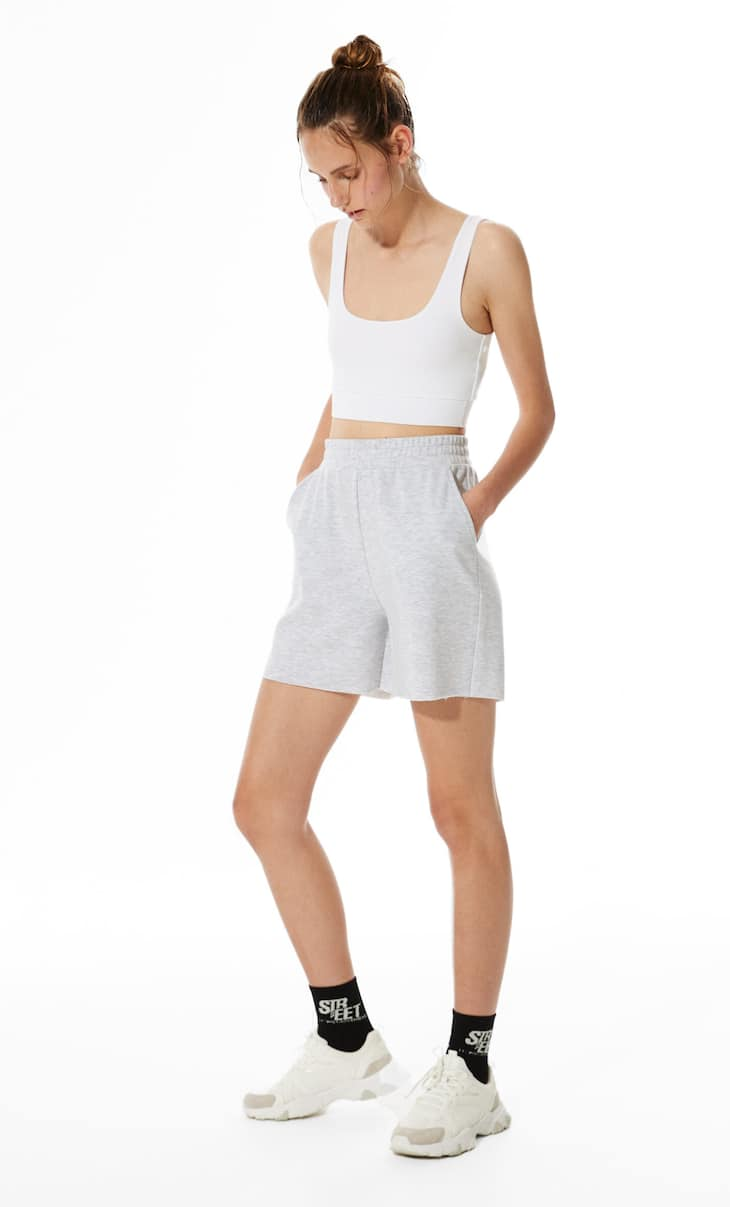 Plush STR-EET Bermuda shorts