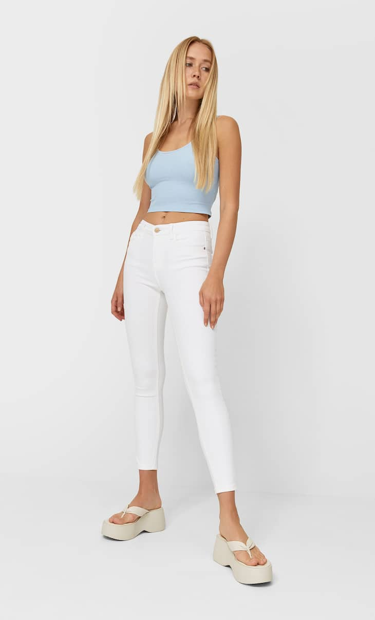 Jeans basiques coupe skinny