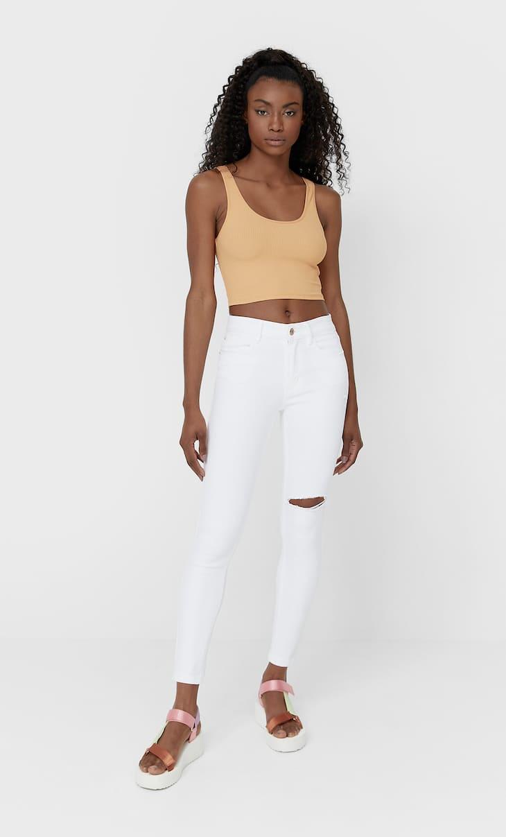 Jeans skinny pinggang rendah