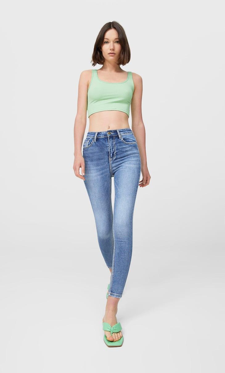 Jean super high waist