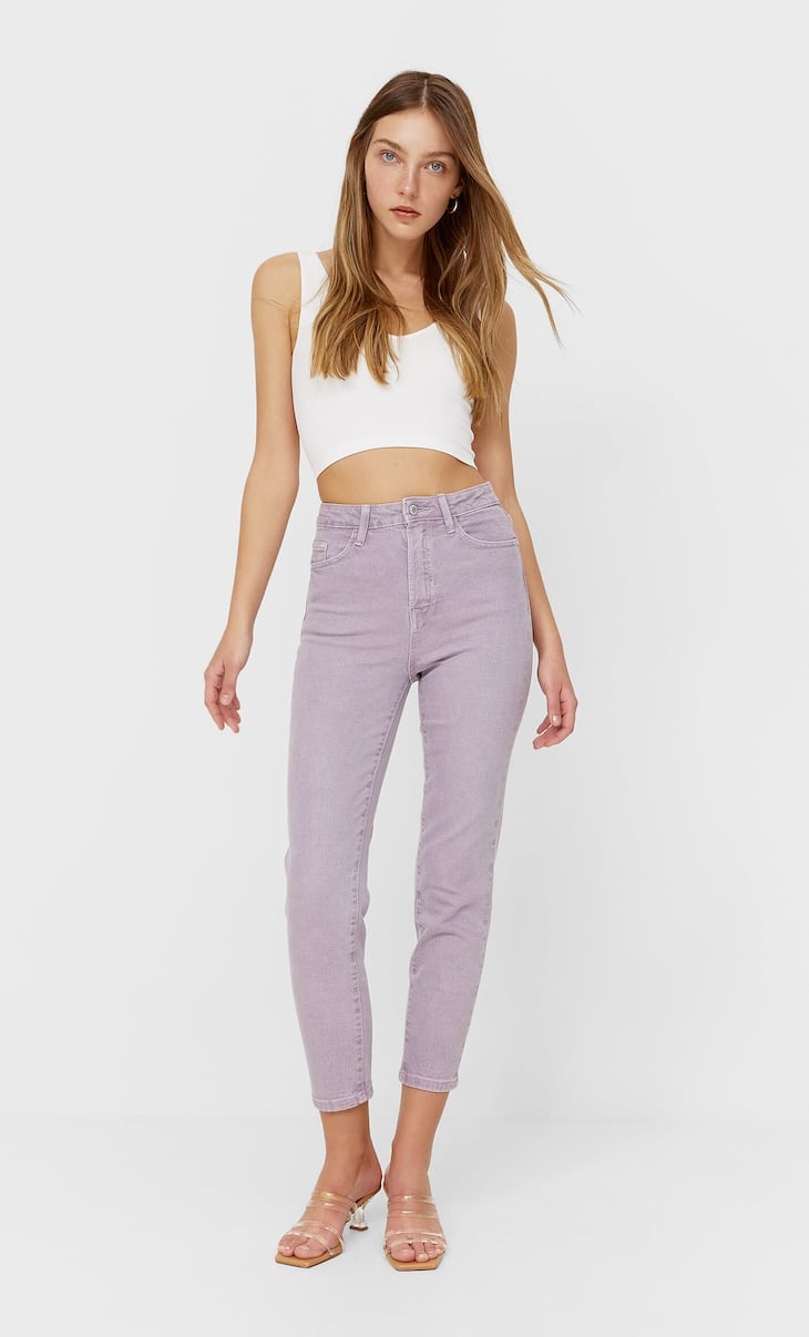 Slim fit mom jeans