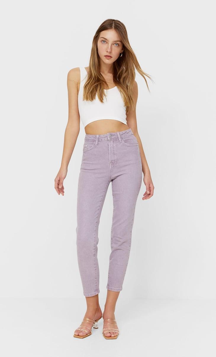 Slim fit mom jeans