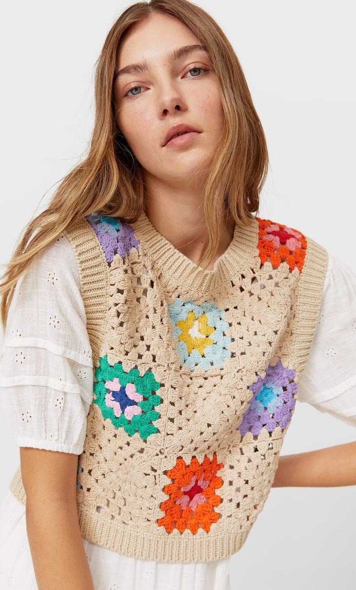 Crochet gilet