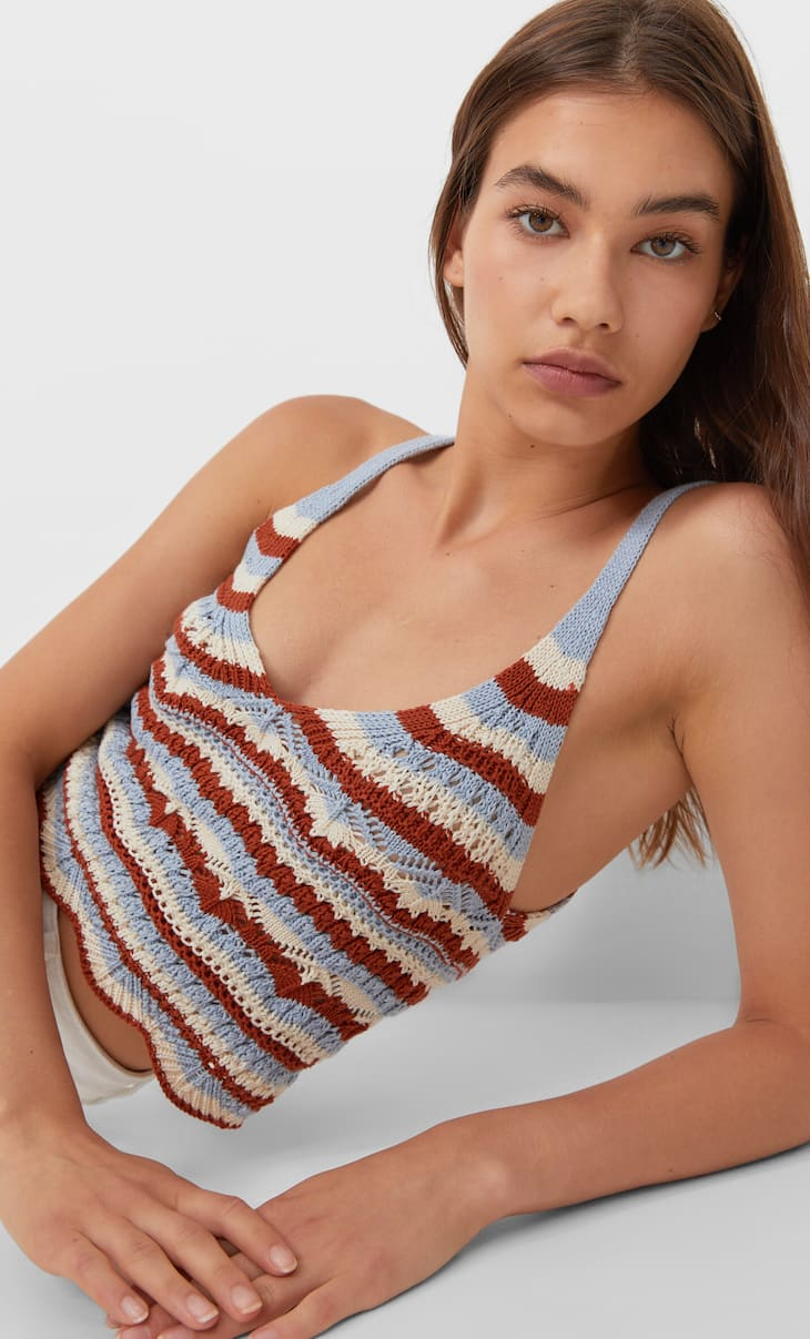 Top crochet estructuras