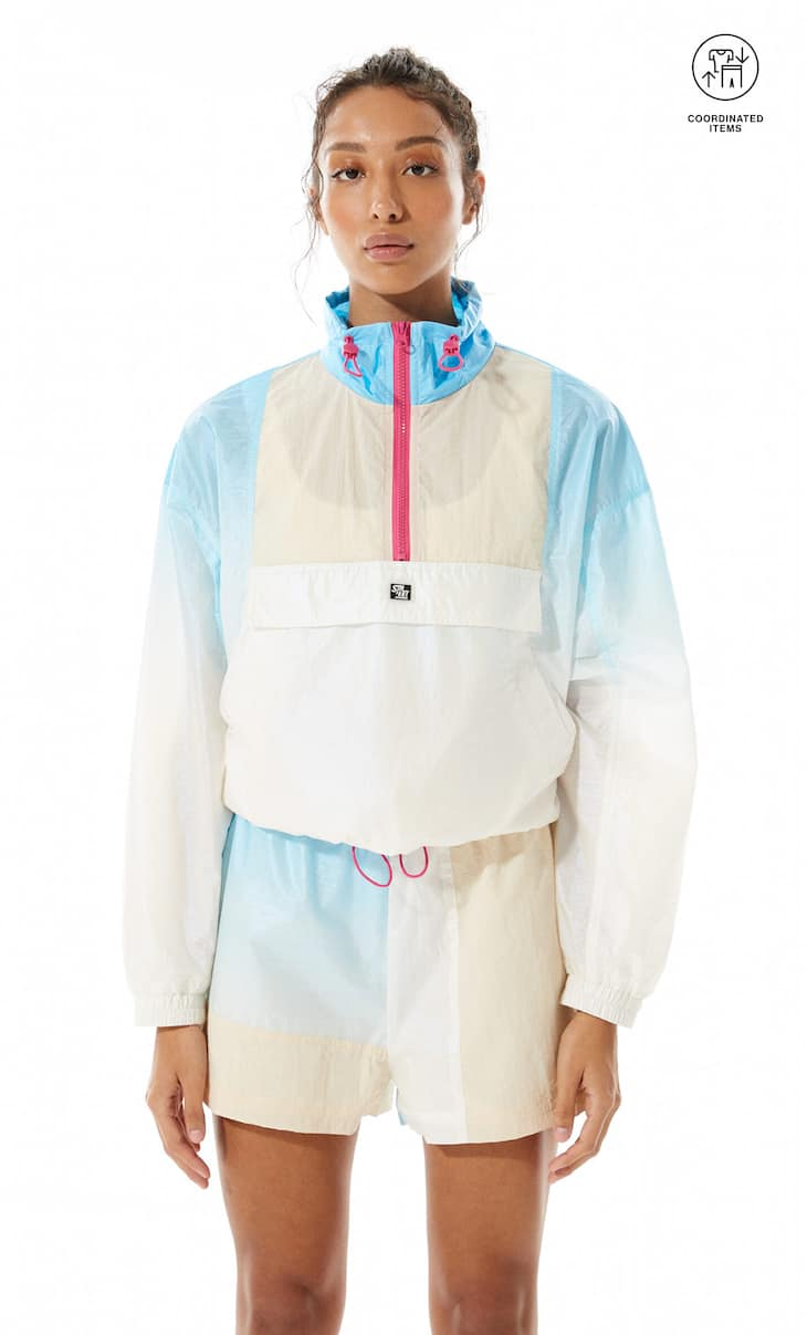 Anorak technique dégradé
