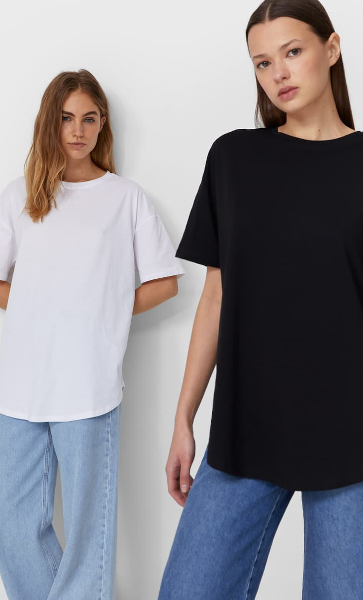 Lot de 2 T-shirts longs