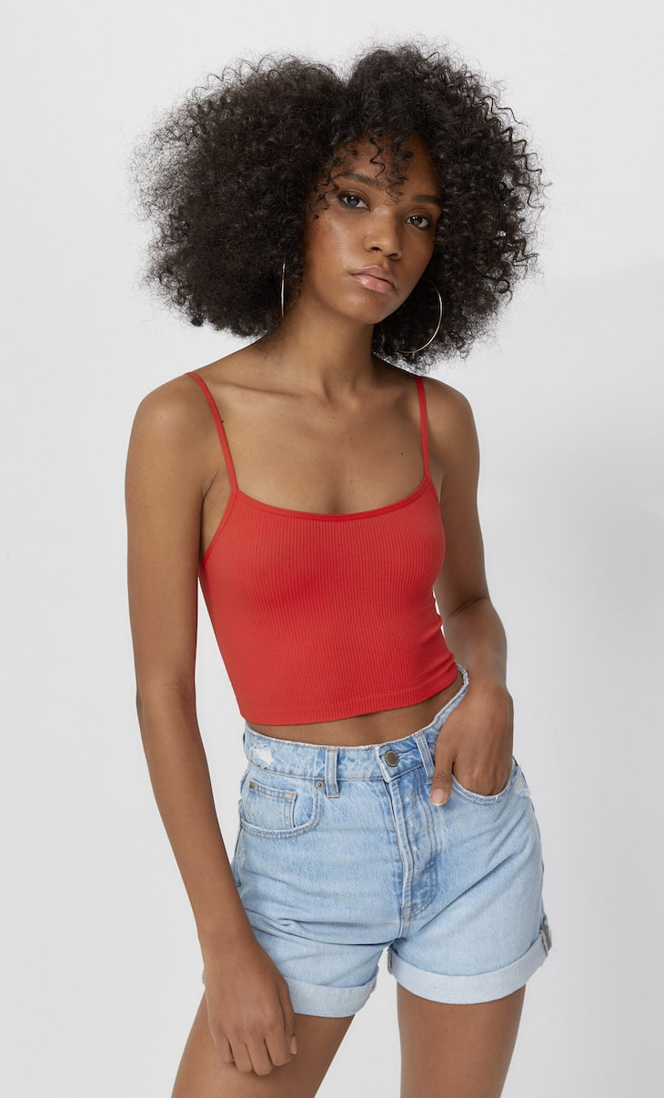 Crop seamless tirantes