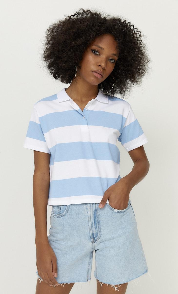 Krótka koszulka polo basic