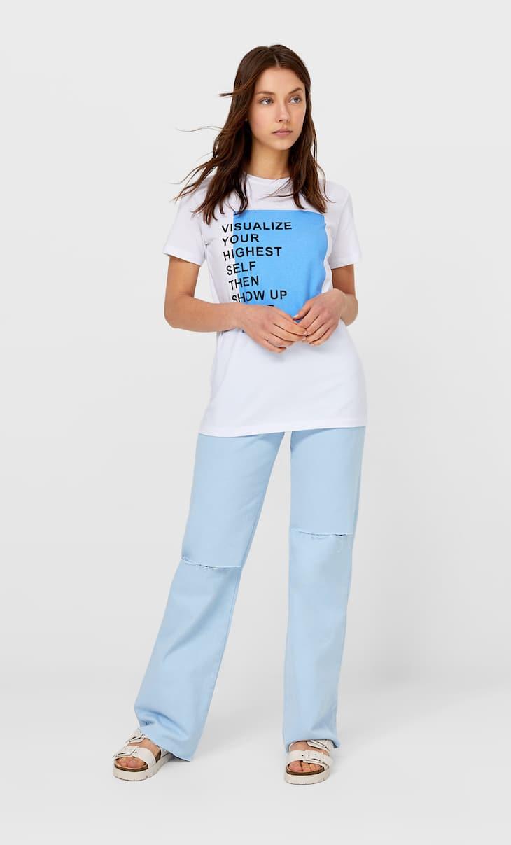 Koszulka z krótkim rękawem i nadrukiem