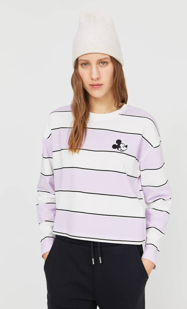 Camiseta rayas parche
