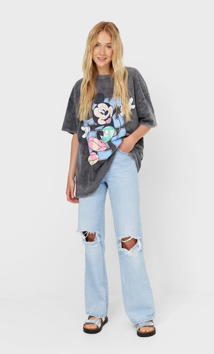 Oversized Mickey T-shirt
