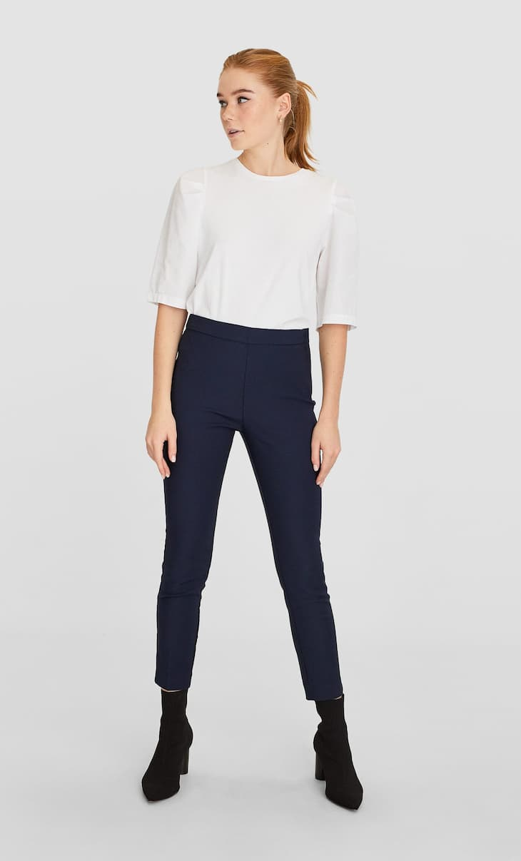 Basic cigarette trousers
