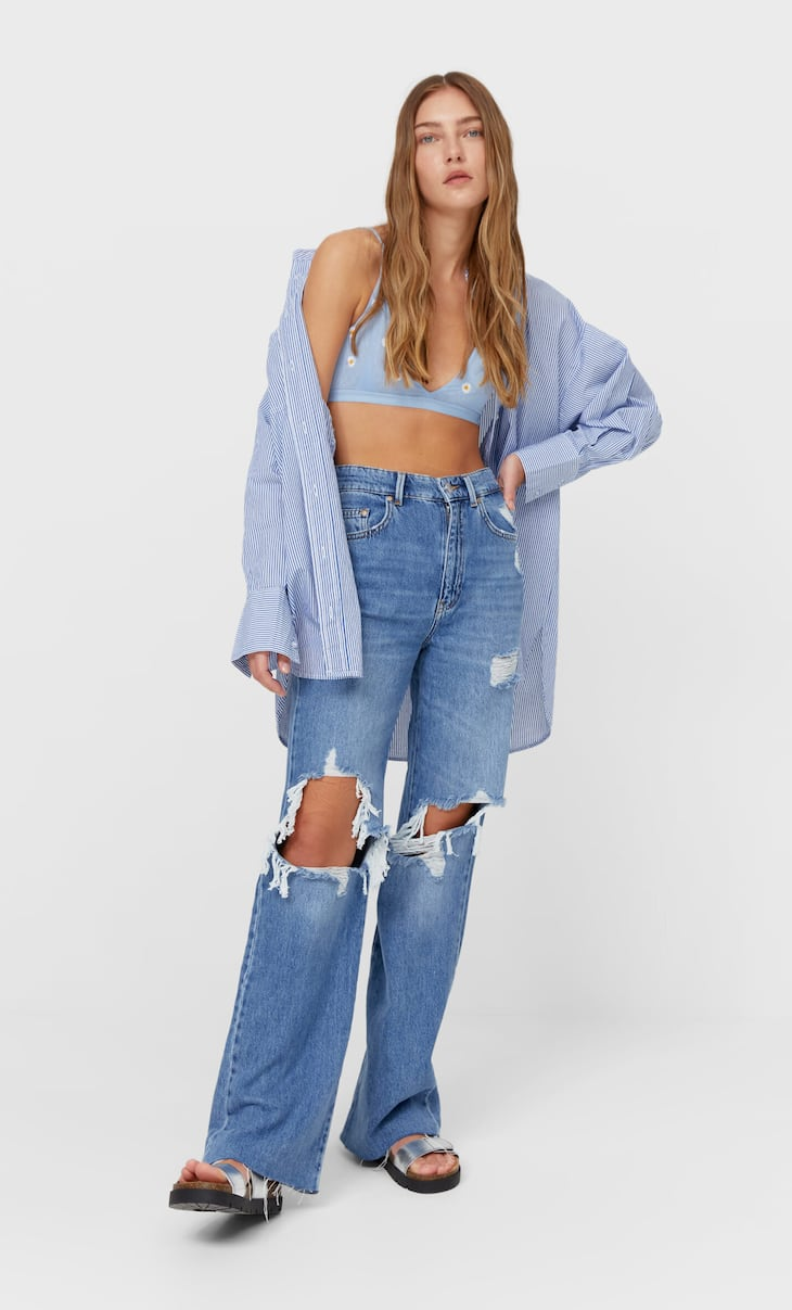 90s dad jeans