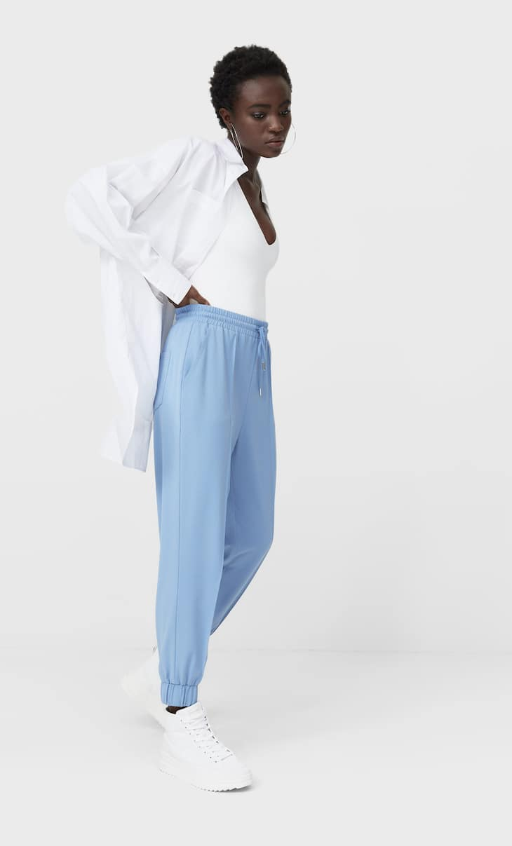 Formal jogging trousers