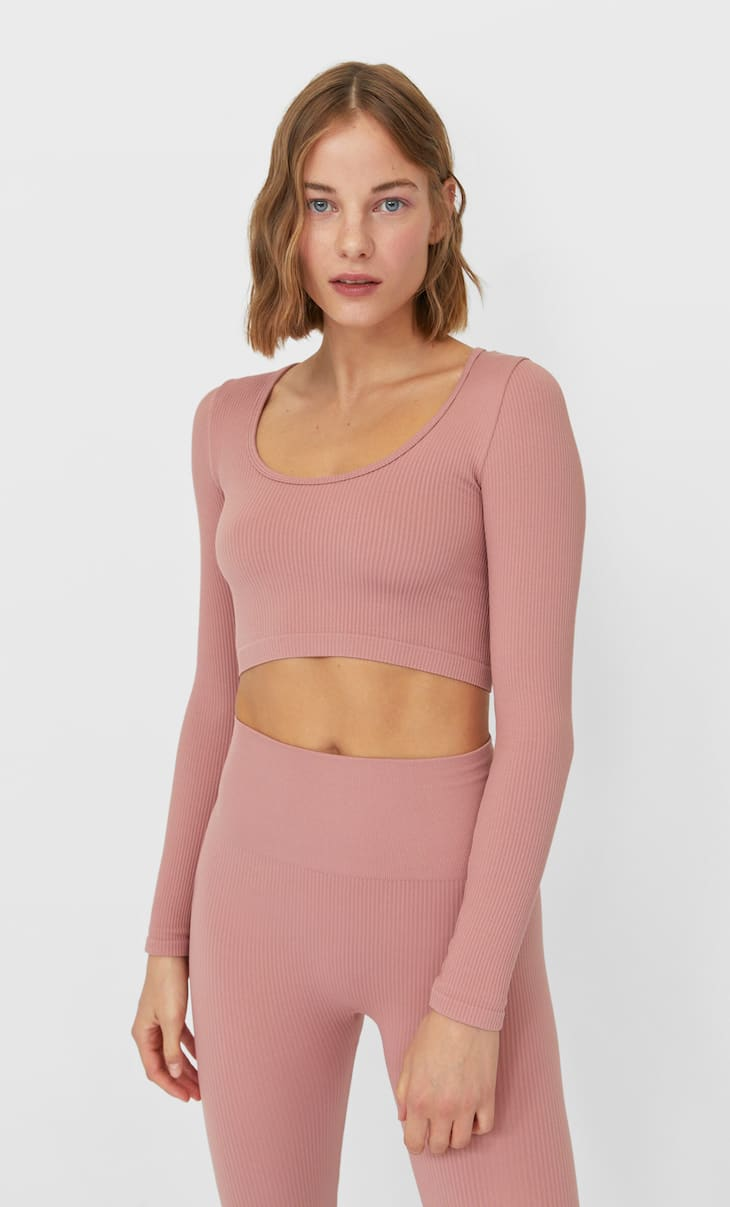 Crop top seamless