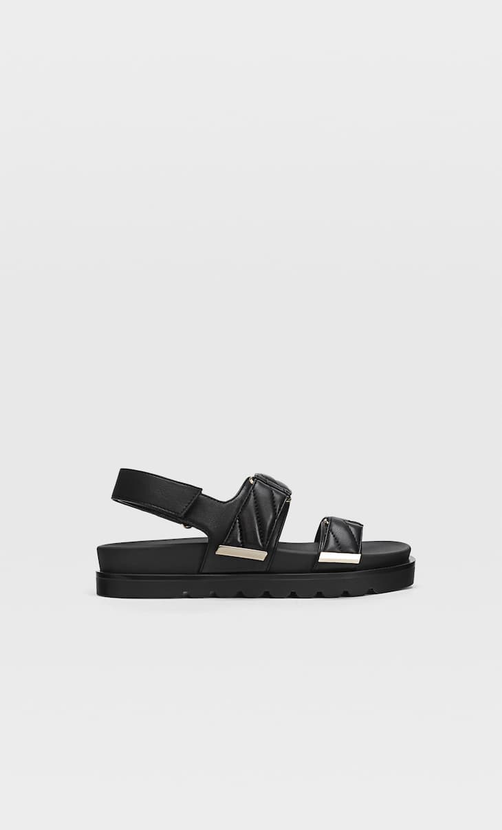 Padded sandals